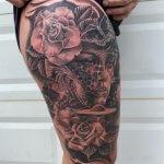 little savage tattoo leg tattoo 11-